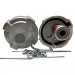 "Fuel Cap 3 1/2"" With 8 Threads Per Inch Non Vented (Pressure Relief) Non Locking, Volvo, Mack, International Application"