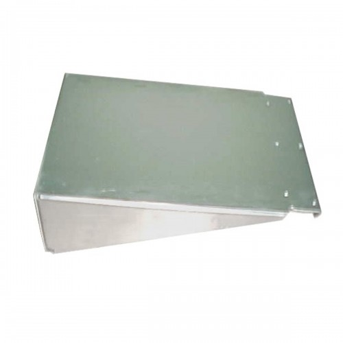"""Aluminum Cover Battery Box 15 1/2"""" X 8 1/2"""" X 24"""", Freightliner 120 Application, without step"""