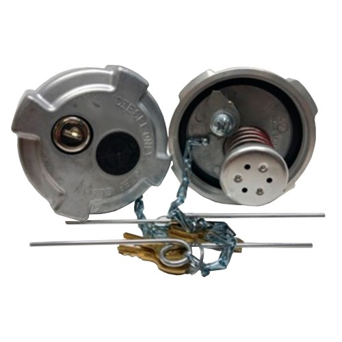 Kenworth, 3.5'', ventilated cap and depression valve with key