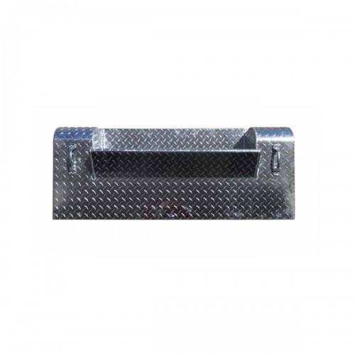 45 Inch Diamond Plate Battery Box Cover Fits Kenworth W900A & W900B