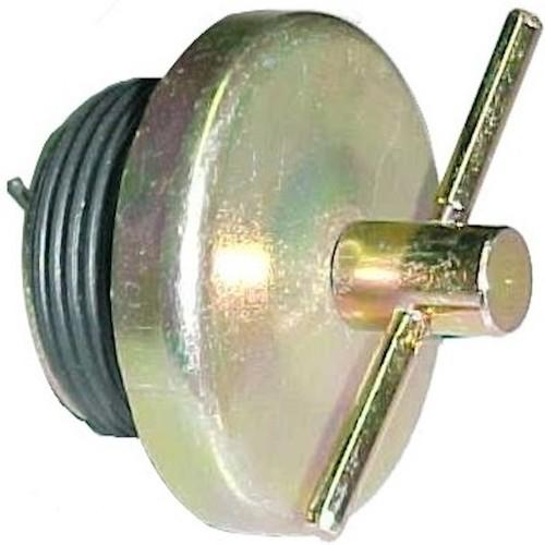 Cummins engine, oil tap, 88 / B, chrome
