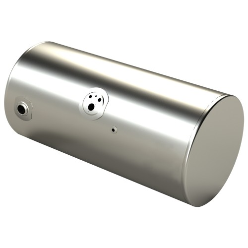 "Fuel Tank 24.5"" Diameter, 50"" Long, 100 Gallons, Passenger  Side, Rear Fill, KW Application"