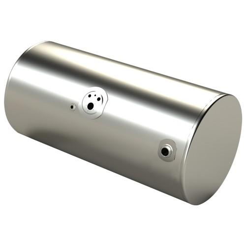 "Fuel Tank, 24.5"" Diameter, 67"" Long, 135 Gallons, Driver Side, Rear Fill, Reefer Rear, KW Application"