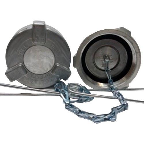 """Ford Fuel Cap 2"""" With 11.5 Threads Per Inch Non Vented (Thermal Reief) Non Locking, International 4000 Series Reefer Application"""