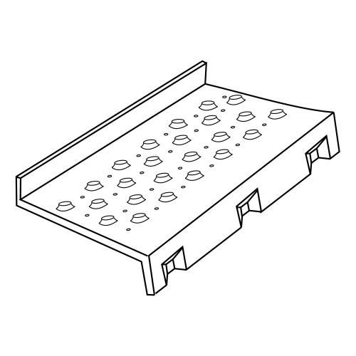 Aluminum Step Bottom Fairing, Both Side, KW T-600 A Application