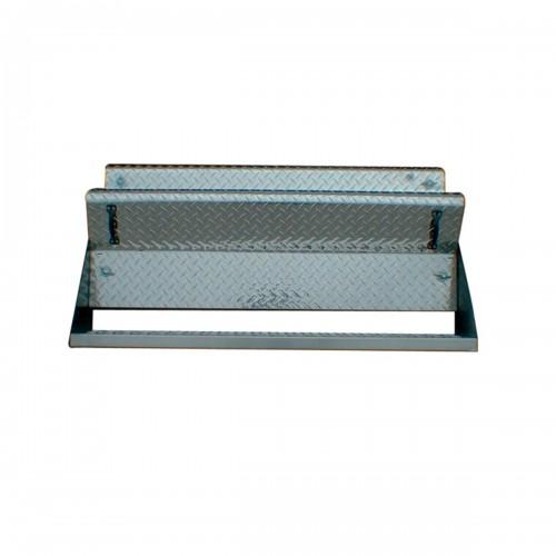 40 Inch Diamond Plate Battery Box Fits Kenworth